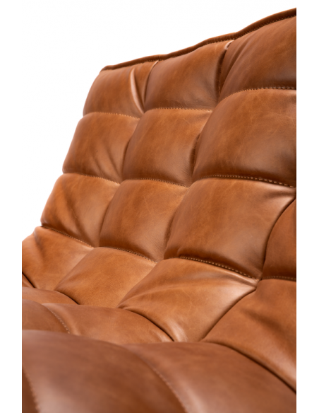 N701 SOFA - 3 seater - leather old saddle 210 x 91 x 76