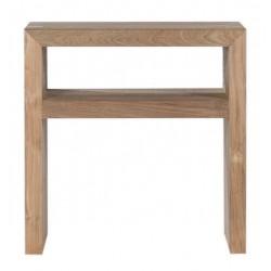 Teck table de nuit Kubus - FSC  50 35 51cm
