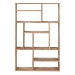Teck M rack small - etagere ouverte 90 30 139cm