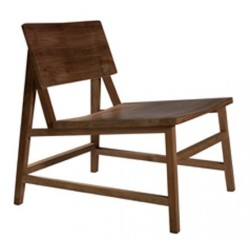 Teck chaise lounge N 2 -58-69-70cm