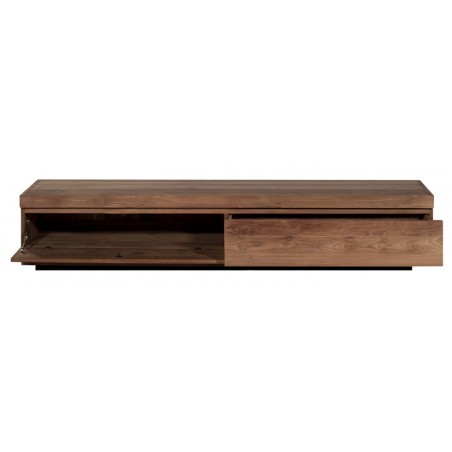 Teck Burger - meuble TV 1 porte abat 1 tiroir -210-47-40cm