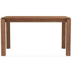 Teck table Slice - pieds 8 x 8 cm 140-80-77cm FSC 100% - Nouveau