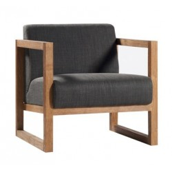 Teck Square Root Sofa LIN BELGE BL -69-71-72cm