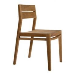 Chene chaise EX 1-sans accoudoirs-43-56-82cm