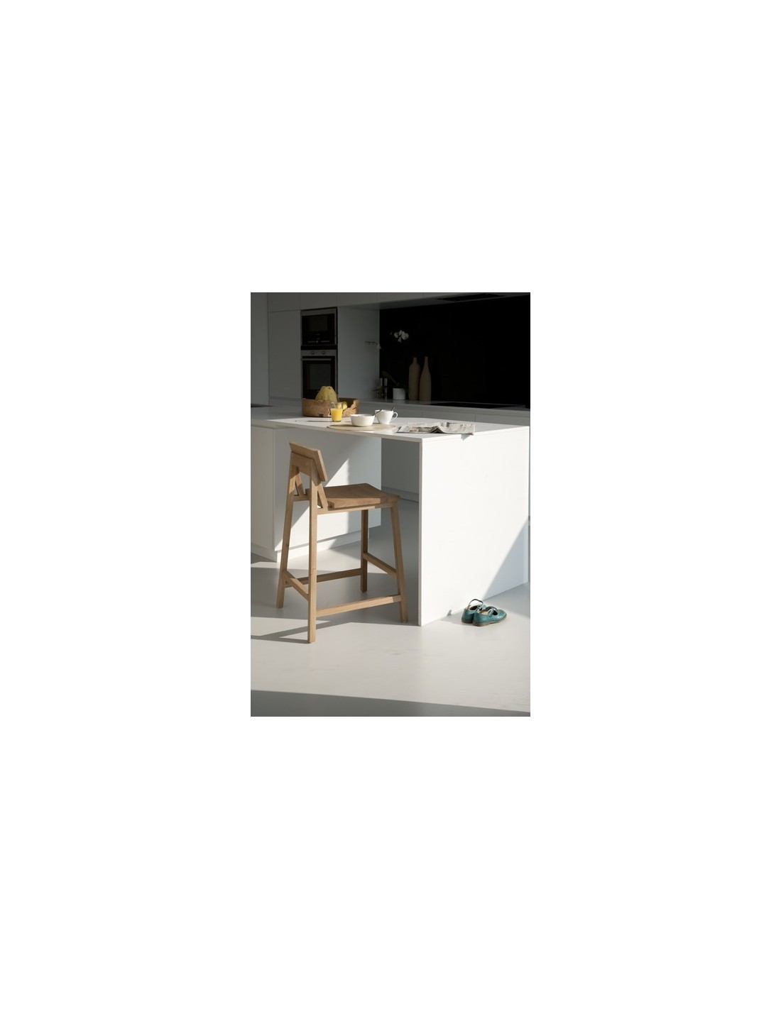 Chene Oak N3 tabouret de bar-sans accoudoirs-Nouveau !!!-48-50-89cm