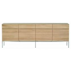 Chene Ligna-buffet-4 portes / 4 tiroirs-220-45-78cm