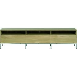 Chene Ligna-meuble TV-3 tiroirs-210-45-51cm