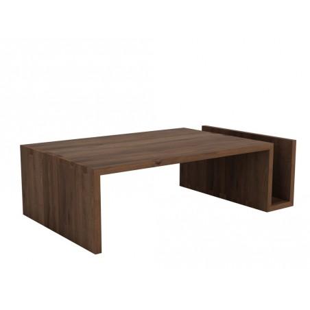Noyer-Naomi-table-basse-120-70-35cm-Nouveau