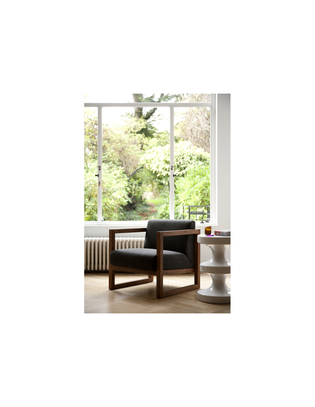 Teck fauteuil Square Root - Turkish Coffee 69 x 75 x 75