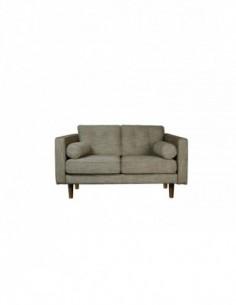 Sofa 2 seater Olive Green -  Nouveau-170-93-80cm