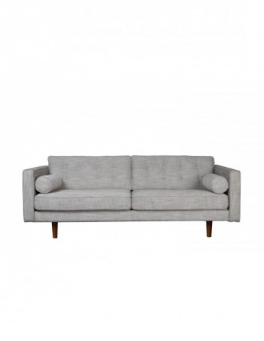 N101 canapé - 3 places - Beige 203 x 93 x 80