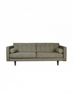 Sofa 3 seater Olive Green -  Nouveau-205-93-80cm