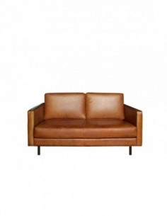 N501 canapé - 2 places - Old saddle 156 x 90 x 85