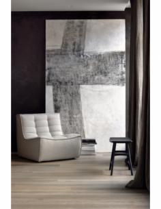 N701 canapé - 1 place - Beige 80 x 91 x 76