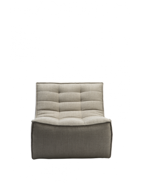 N701 sofa - 1 seater - Beige 80 x 91 x 76