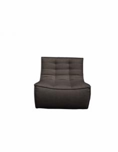 N701 sofa - 1 seater - dark grey 80 x 91 x 76