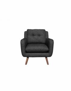 N801 canapé - 1 place - Gris 80 x 93 x 82