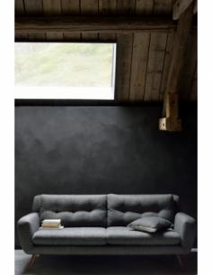 N801 canapé - 3 places - Gris 212 x 93 x 80
