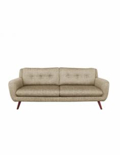 N801 canapé - 3 places - Beige 212 x 93 x 80