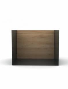 Chêne étagère U shelf S - Gris foncé 40 x 30 x 30