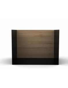 Chêne étagère U shelf S - Noir 40 x 30 x 30