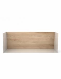 Chêne étagère U shelf M - Blanc 55 x 20 x 20