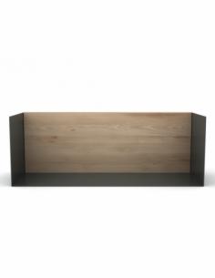 Chêne étagère U shelf M - Gris foncé 55 x 20 x 20