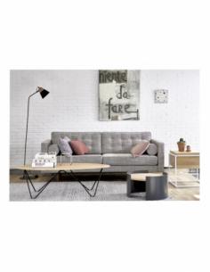 Chêne table basse Orb 130 x 60 x 40
