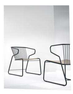 Chêne chaise Gabbia 62 x 69 x 76