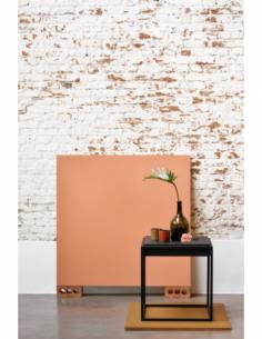 Chêne Monolit bout de canapé - Chêne Noir 47 x 47 x 51
