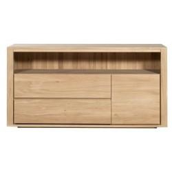 Chene Shadow Penderie-3 portes / 2 tiroirs-91-55-210cm-Nouveau