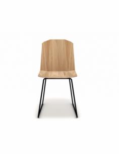 Chêne chaise Facette 43 x 53 x 83