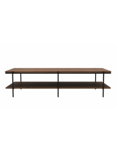 Noyer table basse Rise 150 x 60 x 37