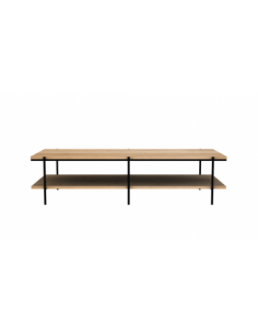 Chêne table basse Rise 150 x 60 x 37