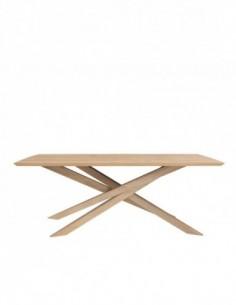 Chêne table Mikado  203 x 106 x 76