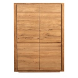 Chene Shadow-armoire-4 portes-115-45-160cm