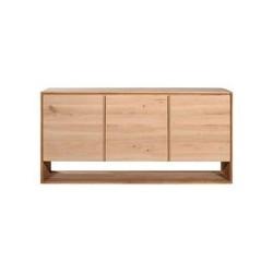 Chene Nordic buffet-3 portes-158-45-78cm-Nouveau