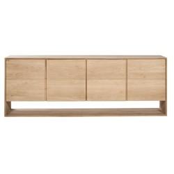 Chene Nordic buffet-4 portes-210-45-78cm-Nouveau