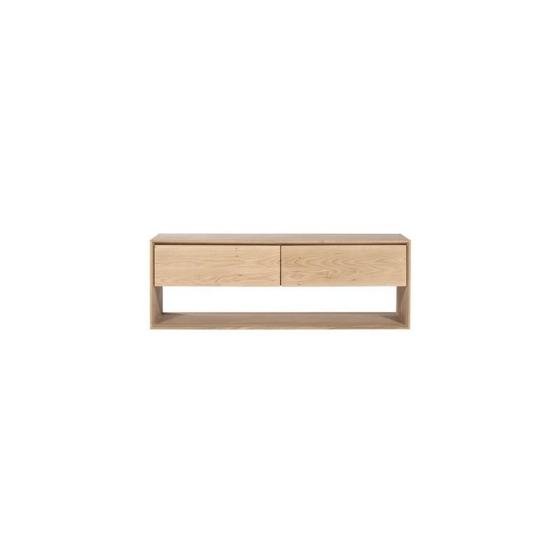 Furniture Indoor Chene Nordic Meuble Tv 1 Porte Abattante 1 Tiroir 120 46 45cm Nouveau La Vie En Arts