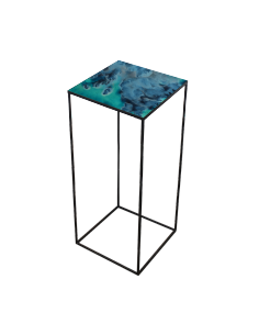 Midnight Crush Compact Side Table