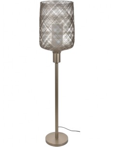 Antenna floor lamp