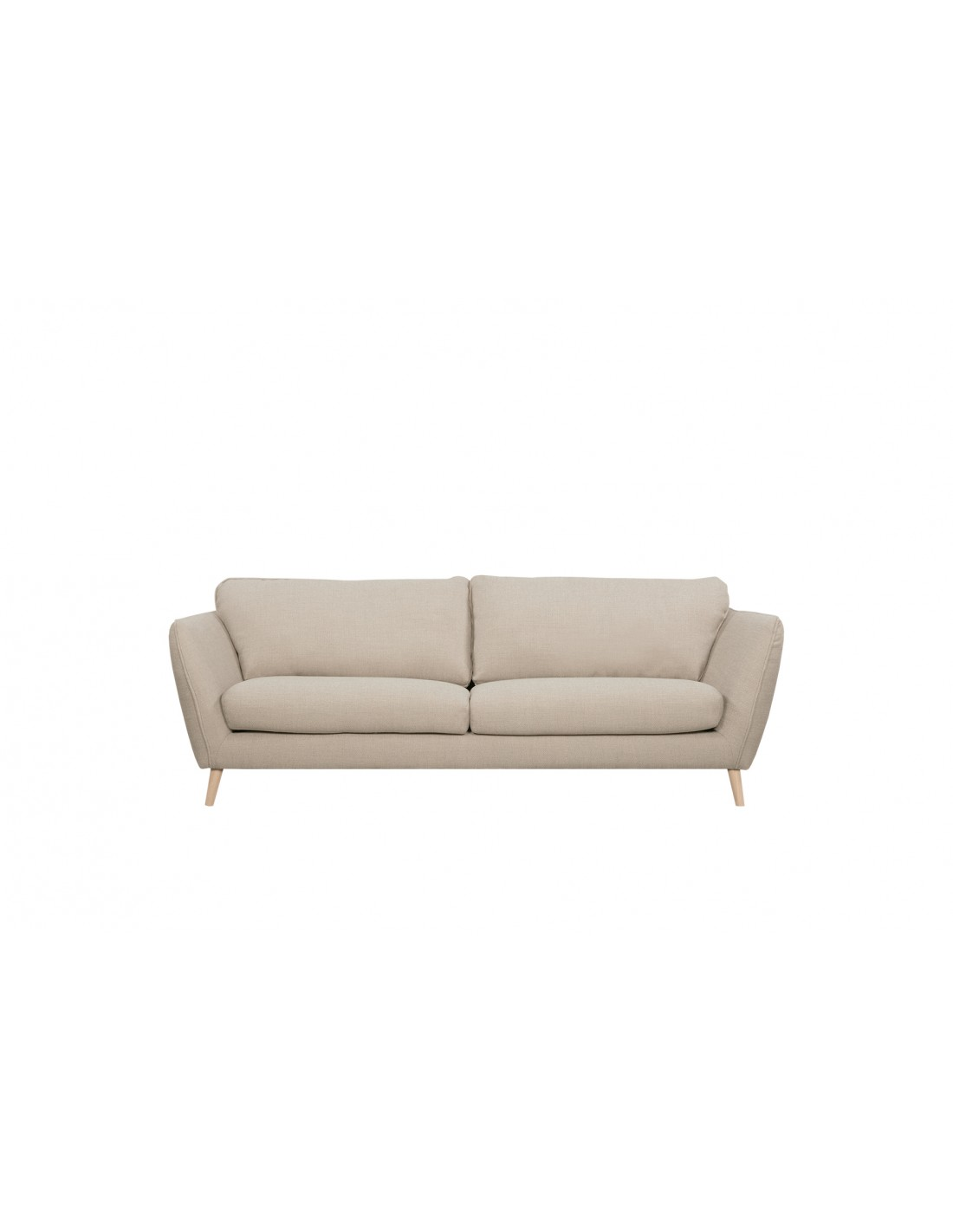 ABBE 3 seater with feet
